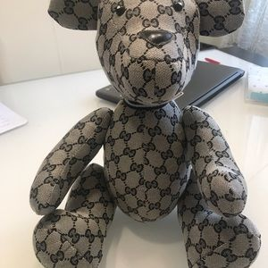 Gucci authentic teddy bear toy